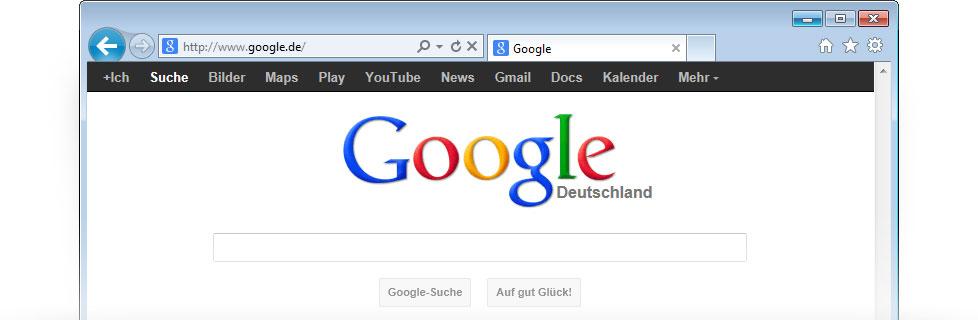 Google als Startseite festlegen - Google