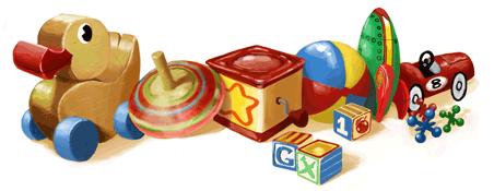Google Doodle Kindertag