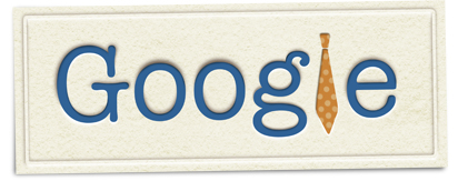 Google Logo: 2011 Father's Day in Germany