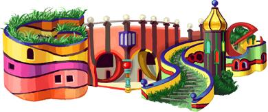 Les logos de Google - Page 5 Hundertwasser11-hp