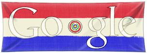 Google Logo: 2011 Paraguay Independence Bicentennial