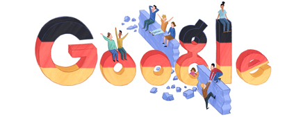 Google Logo: German Unity Day - 2012