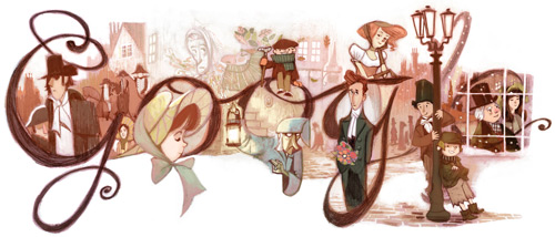 Les logos de Google - Page 6 Dickens-2012-HP