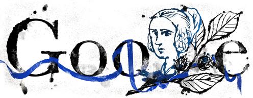 217. Geburtstag von Annette von Droste-Hülshoff - Annette von Droste-Hülshoff's 217th Birthday : Germany
