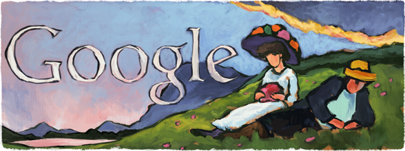 137. Geburtstag von Gabriele Münter - Gabriele Münter's 137th Birthday : Germany