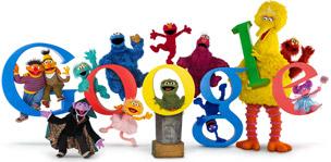 40 Jahre Sesamstraße bei Google
