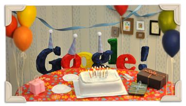 13. Geburtstag von Google