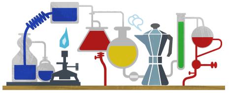 Google Doodle Robert Wilhelm Bunsen