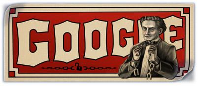 137. Geburtstag von Harry Houdini
