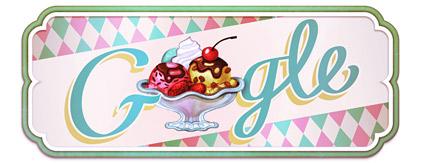 Google Doodle Eisbecher