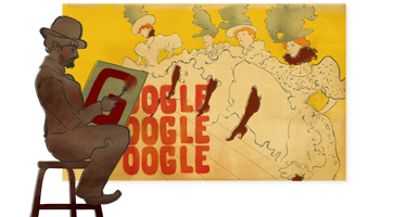 Google-Doodle: Henri de Toulouse-Lautrec