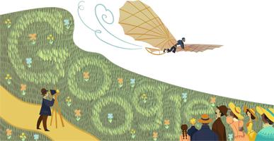 Google-Doodle: Otte Lilienthal