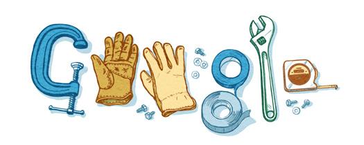 Google-Doodle - Tag der Arbeit 2015