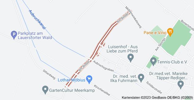 Karte von Am Bindel, 47239 Duisburg