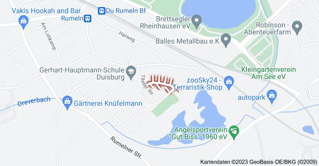Karte von Allensteiner Str., 47239 Duisburg