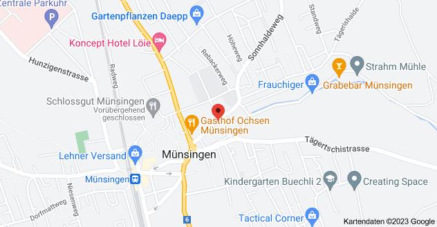 Karte von Schulhausgasse 8, 3110 Münsingen
