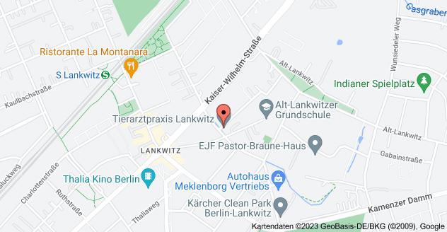 Karte von Bruchwitzstraße 30, 12247 Berlin