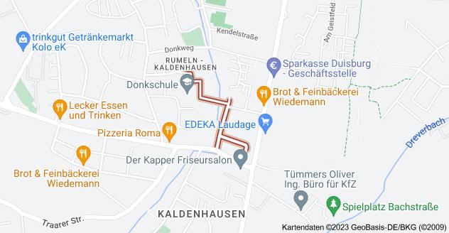 Karte von Akazienweg, 47239 Duisburg