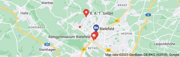 Map of Rat Bielefeld
