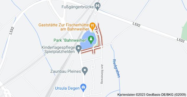 Karte von Am Bahnweiher, 67105 Schifferstadt