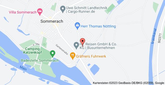 Karte von Am Leitersberg 7, 97334 Sommerach