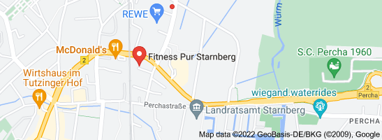 Map of starnberg fitness club sauna