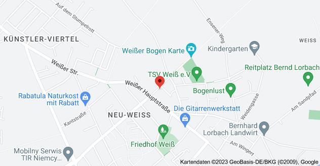 Karte von Ludwigstraße 6, 50999 Köln