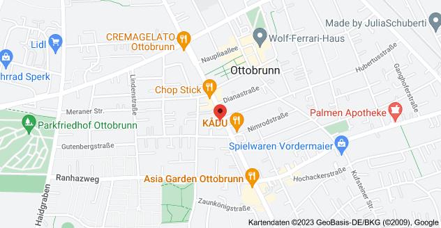 Karte von Rosenheimer Landstraße 72, 85521 Ottobrunn