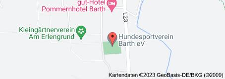 Karte von Hundesportverein Barth e.V.