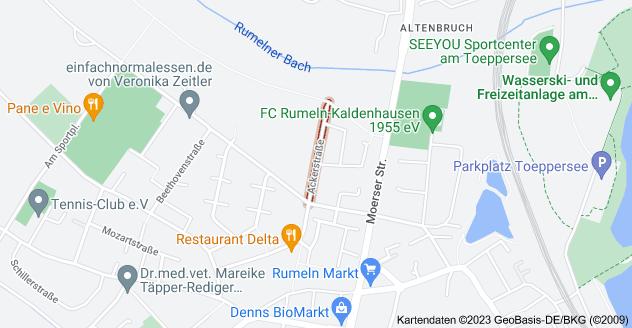 Karte von Ackerstraße, 47239 Duisburg