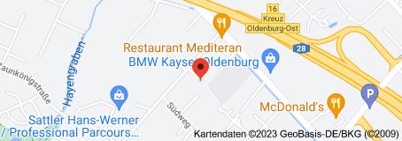 Karte von Ev.-luth. Kirchengemeinde Osternburg